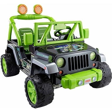 Fisher-Price – Jeep Wrangler Tortues Ninja Power Wheels