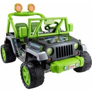 Fisher-Price Power Wheels Teenage Mutant Ninja Turtles, Jeep Wrangler