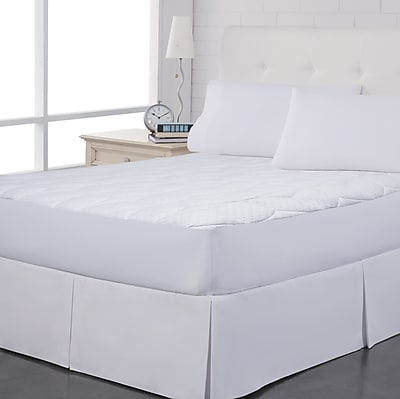 Perfect Fit Industries Pin Dot Polyester Mattress Pad; Twin