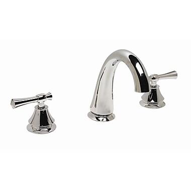 Premier Faucet Torino Double Handle Deck Mount Roman Tub Faucet Trim; Chrome
