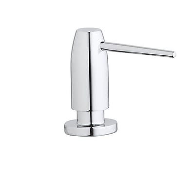 Elkay Avado Deck Mount Soap Dispenser; Chrome