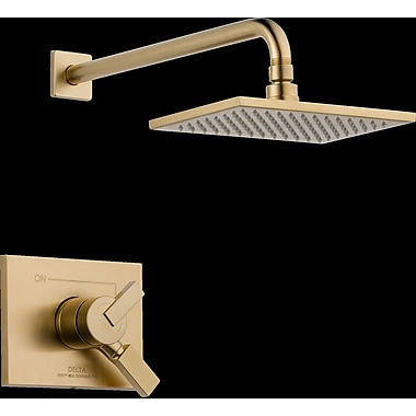 Delta Vero Monitor 17 Series Shower Faucet Trim w/ Lever Handle; Brilliance Champagne Bronze