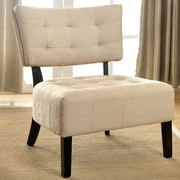 A&J Homes Studio Seia Side Chair; Ivory