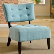A&J Homes Studio Seia Side Chair; Blue