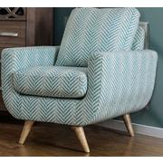 A&J Homes Studio Alondra Arm Chair; Blue