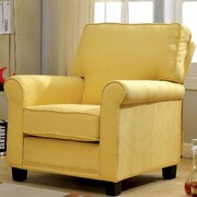 A&J Homes Studio Belem Arm Chair; Yellow
