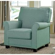 A&J Homes Studio Belem Arm Chair; Blue