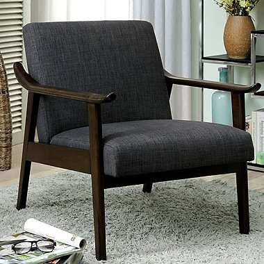 A&J Homes Studio Beidre Arm Chair; Gray