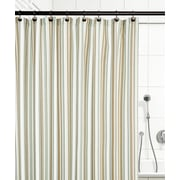 Ellis Curtain Jaden Stripe Shower Curtain; Spa