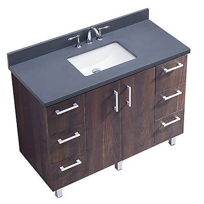InFurniture IN Series 48'' Single Bathroom Vanity Set