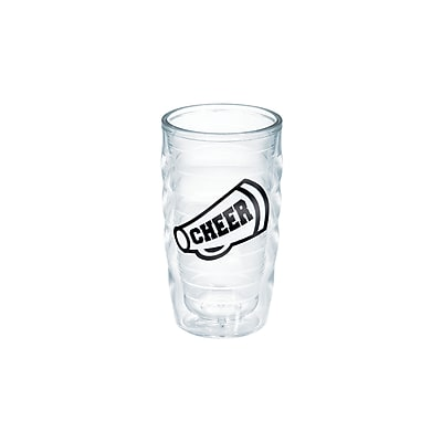 Tervis Tumbler Game On Cheer Megaphone 10 oz. Plastic Every Day Glass