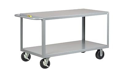 Little Giant USA 30'' x 65.5'' 2 Shelf Heavy Duty Utility Cart