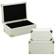 Selectives Cloud Faux Leather Storage Box Trunk