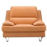 AmericanEagleInternationalTrading Harrison Arm Chair; Mustard Yellow