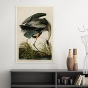 WexfordHome Great Blue Heron by John James Audubon Painting Print on Wrapped Canvas