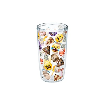 Tervis Tumbler Emoji All Over Collage 16 oz. Tumbler WYF078279540174