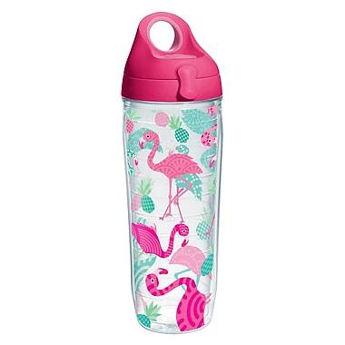 Tervis Tumbler Sun and Surf Flamingos Water Bottle 24 oz. Tumbler