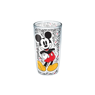 Tervis Tumbler Disney Mickey Mouse 16 oz. Plastic Every Day Glass WYF078279540181