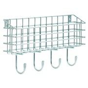 Franklin Brass Wire Mail Basket Wall Hook