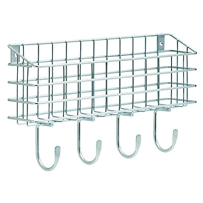 Franklin Brass Wire Mail Basket Wall Hook