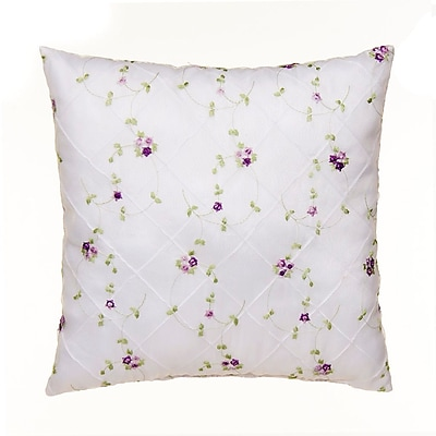 Glenna Jean Sweet Pea Throw Pillow