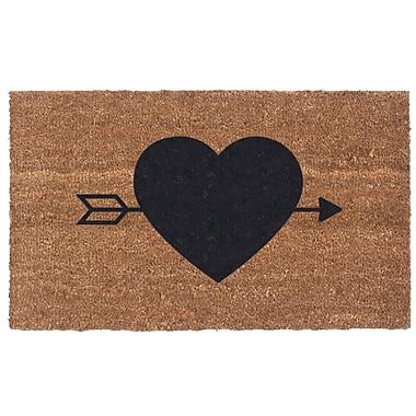 Coco Mats N More Heart N' Arrow Door Mat