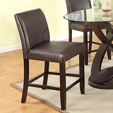 Roundhill Furniture Cicicol 24'' Bar Stool (Set of 2)