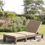 SunTime Outdoor Living Daytona Chaise Lounge w/ Cushion