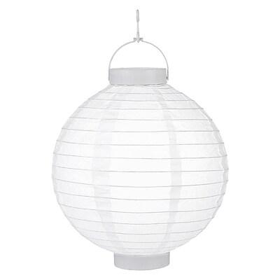 Luminarias Battery Operated Lantern (Set of 3); White