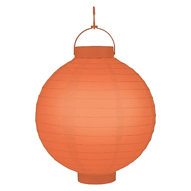 Luminarias Battery Operated Lantern (Set of 3); Orange