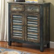 ACME Furniture Glancio 2 Drawer Accent Cabinet
