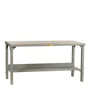 Little Giant USA Welded Height Adjustable Steel Top Workbench; 48'' W x 24'' D