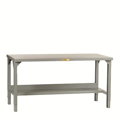 Little Giant USA Welded Height Adjustable Steel Top Workbench; 72'' W x 36'' D