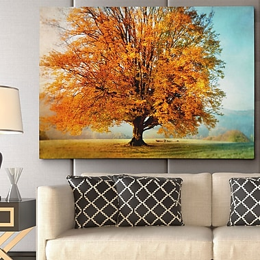 WexfordHome ''Autumn's Passion'' by Irene Weisz Photographic Print on Wrapped Canvas
