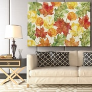 WexfordHome ''Autumn Leaves'' by Carol Robinson Painting Print on Wrapped Canvas