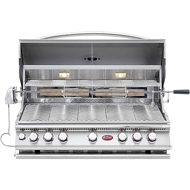 Cal Flame Convection 5-Burner Built-In Propane Gas Grill