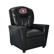 Imperial NHL Kids Recliner w/ Cup Holder; Montreal Canadians