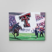 Glory Haus 'Texas Tech Stadium Entry' by Richard Russell Graphic Art on Wrapped Canvas