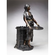 AA Importing Standing Woman Resin Statue Planter