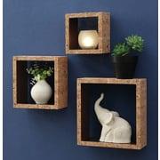 OIA Decorative 3 Piece Accent Shelf Set