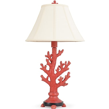 Island Way Fire Coral 32.75'' Table Lamp