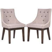 Merax Fabric Dining Side Chair (Set of 2)