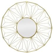 Three Hands Co. Metal Decorative Wall Mirror