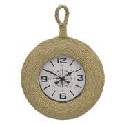Three Hands Co. Rope Wall Clock