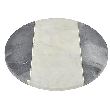 Three Hands Co. Round Marble Cutting Board