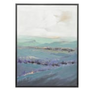 Three Hands Co. 'The Sea' Framed Painting Print