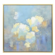 Three Hands Co. 'Blue and Gold' Framed Painting Print