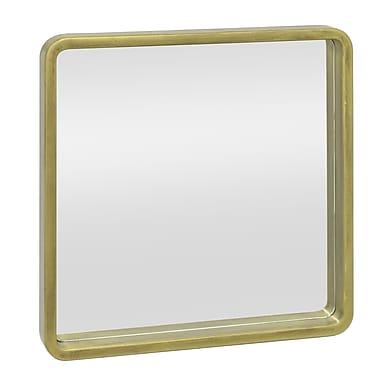 Three Hands Co. Square Decorative Wall Mirror