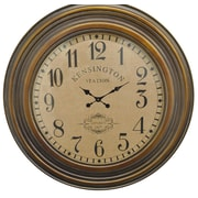 Three Hands Co. Oversized Kensington Station Face Wood 40'' Wall Clock