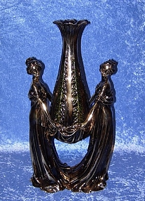 Three Star 2 Women Rose Bud Vase